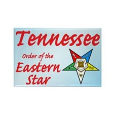 Tennessee Eastern Star Rectangle Magnet