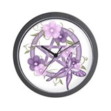 Cute Wiccan Wall Clock