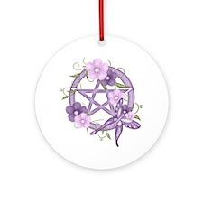Unique Wiccan Ornament (Round)