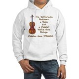 Funny Fiddle or Violin Hoodie