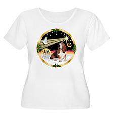 XmasDove/Basset Hound T-Shirt
