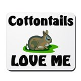 Cottontails Love Me Mousepad