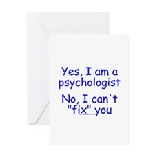 No I Can't Fix You Greeting Card