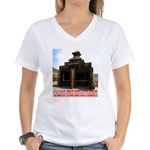 Calico Fire Hall Women's V-Neck T-Shirt