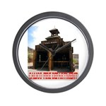Calico Fire Hall Wall Clock
