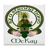 McKay Clan Motto Tile Coaster