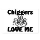 Chiggers Love Me Postcards (Package of 8)