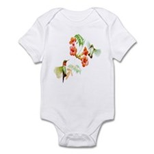 Ruby Throated Hummingbird Onesie