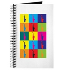 Saxophone Pop Art Journal