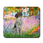 Garden/German Pointer Mousepad