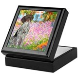 Garden/German Pointer Keepsake Box