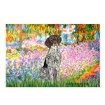 Garden/German Pointer Postcards (Package of 8)