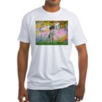 Garden/German Pointer Fitted T-Shirt