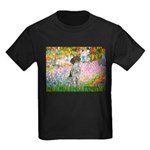 Garden/German Pointer Kids Dark T-Shirt