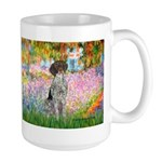 Garden/German Pointer Large Mug