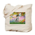 Garden/German Pointer Tote Bag