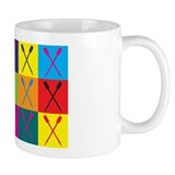 Rowing Pop Art  Tasse