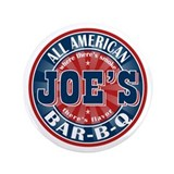 "Joe's All American BBQ 3.5"" Button (100 pack)"