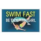 TOP Swim Slogan Decal
