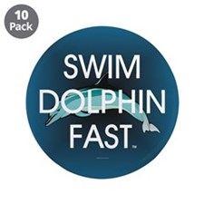 "TOP Swim Slogan 3.5"" Button (10 pack)"