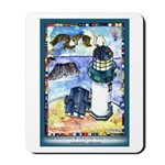 Bird Watching @ Yaquina Head Lighthouse Mousepad