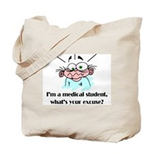 Frazzled Medical Student Tote Bag