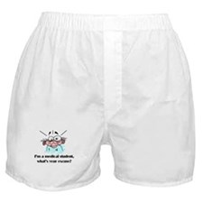 Frazzled Medical Student Boxer Shorts
