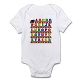 ABC Train Infant Bodysuit