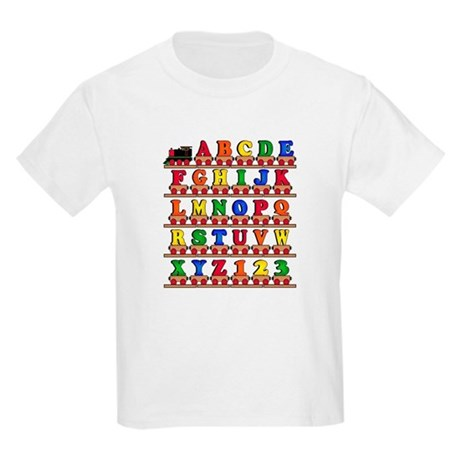 ABC Train Kids Light T-Shirt