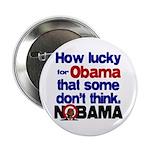 "Lucky for Obama 2.25"" Button"