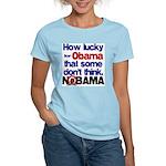 Lucky for Obama Women's Light T-Shirt