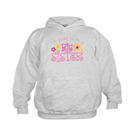 I'm Going To Be a Big Sister Kids Hoodie