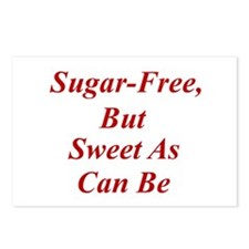 Sugar-Free Postcards (Package of 8)