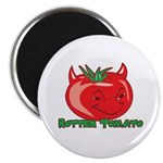Rotten Tomato Magnet