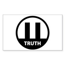 9/11 TRUTH Rectangle Decal