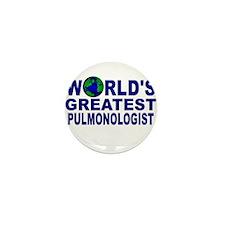 World's Greatest Pulmonologis Mini Button (10 pack