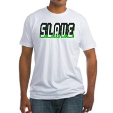 SLAVE-BLACK/GREEN OUTLINE Shirt