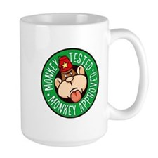 Monkey Tested Monkey Approved Mug