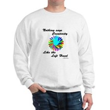 Left Handed Creativity Sweatshirt