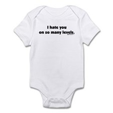 I Hate you on so many Levels Onesie