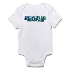 Daddy home Infant Bodysuit