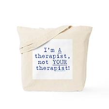 I'm A Therapist Tote Bag