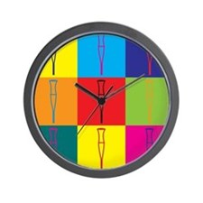 Rehabilitation Pop Art Wall Clock