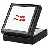 Psycho. Therapist Keepsake Box