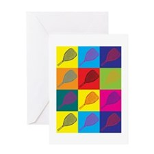 Racquetball Pop Art Greeting Card