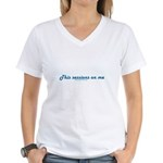 This Sessions On Me Women's V-Neck T-Shirt