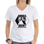 Double Agent Women's V-Neck T-Shirt