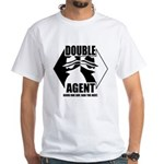 Double Agent White T-Shirt
