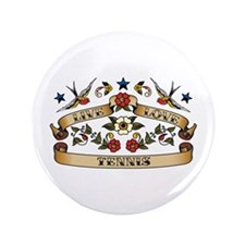 "Live Love Tennis 3.5"" Button (100 pack)"