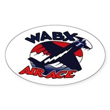 WABX Air Aces Oval Decal